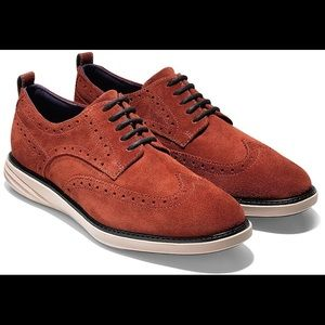 Cole Haan GrandEvolution wingtip oxfords s…